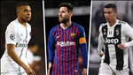 Cuoc dua Chiec giay Vang chau Au 2018/19: Messi bang bang ve dich