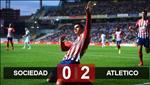 Video tong hop: Sociedad 0-2 Atletico Madrid (Vong 26 La Liga 2018/19)