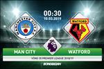 Man City 3-1 Watford (KT): Sterling lap hat-trick, Man xanh xay chac ngoi dau