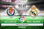 Valladolid 1-4 Real Madrid: Duoc VAR giup suc, Los Blancos co chien thang rua mat