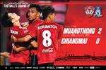 VIDEO: Thu mon Van Lam cung dong doi o Muangthong thang tran dau o Thai League 2019