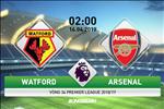 Watford 0-1 Arsenal: Choi hon nguoi tu som, Phao thu van chi thang may