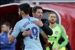 Costa lam loan sau man chui trong tai, HLV Simeone noi gi?