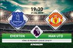 Everton 4-0 MU (KT): Thua tham hai, vuc tham cho Quy do
