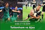 Tottenham 0-1 Ajax: Ban ha ga trong, Ajax viet tiep co tich tai Champions League