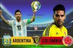 Nhan dinh Argentina vs Colombia (5h ngay 16/6): Chi Messi la khong du!
