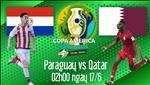 Paraguay 2-2 Qatar: Hoa nguoc, nha vo dich chau A de lai an tuong trong tran ra mat Copa America