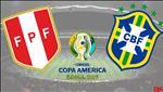 Peru 0-5 Brazil: Thang huy diet, Selecao tung bung vao tu ket Copa America 2019