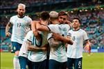 Argentina vao tu ket, Messi va Aguero phan ung the nao?