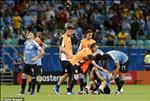 Video tong hop: Uruguay 0-0 (pen 4-5) Peru (Copa America 2019)