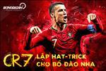 Ronaldo lap hat-trick cho BDN: Xung danh trai cherry tren dinh chiec banh!