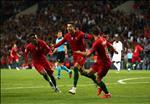 HLV Santons het loi khen ngoi Ronaldo sau tran dau voi Thuy Sy
