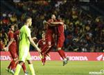 VIDEO: Bo ba cau thu Ha Noi phoi hop ghi ban nhip nhang o chung ket Kings Cup 2019