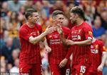 Video tong hop: Bradford 1-3 Liverpool (Giao huu he 2019)