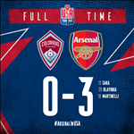 Video tong hop: Colorado Rapids 0-3 Arsenal (Giao huu he 2019)