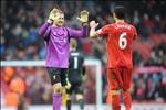 Bo doi hau ve bao tin buon cho Liverpool