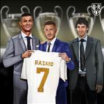 Hazard chinh thuc ke thua so ao huyen thoai o Real Madrid