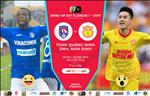 Quang Ninh 0-0 Nam Dinh (KT): Tran hoa nhat