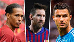 UEFA cong bo 3 ung vien cho danh hieu Cau thu xuat sac nhat mua giai 2018/19