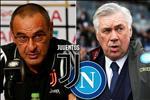 Juventus vs Napoli: Khi hai nguoi thay tai ngo co nhan