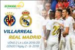 Villarreal 2-2 Real Madrid: Gareth Bale toa sang giai cuu HLV Zidane roi nhan ... the do