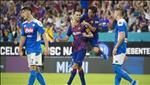Video tong hop: Napoli 1-2 Barca (Giao huu he 2019)