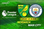 """Nhan dinh Norwich vs Man City (23h30 ngay 14/9): Dap to """"Hoang yen"""""""