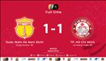 Video tong hop: Nam Dinh 1-1 TPHCM (Vong 23 V-League 2019)