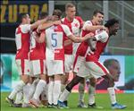 Cam hoa Inter Milan tren dat Italia, HLV Slavia Praha van khong hai long