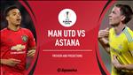 Doi hinh du kien MU vs Astana: Quy do gianh tron 3 diem ?