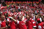 Real thua tham, ly do nao Zidane nhan duoc su ung ho tu… fan Arsenal?
