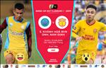 Khanh Hoa 3-0 Nam Dinh (KT): Thang chung ket nguoc, Khanh Hoa thap len hy vong tru hang