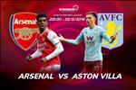Arsenal 3-2 Aston Villa (KT): Choi thieu nguoi, Phao thu van thang nguoc ngoan muc