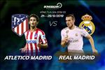 Atletico 0-0 Real Madrid: Derby kem chat luong