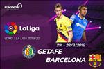 Getafe 0-2 Barca (KT): Vang Messi, Suarez len tieng