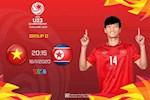 U23 Viet Nam 1-2 U23 Trieu Tien: That bai, U23 Viet Nam ngam ngui ve nuoc