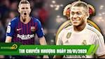 TIN NONG chuyen nhuong 20/1:  Zidane hop khan Perez, Real chuan bi ky Mbappe, Barca dam phan mua De Ligt
