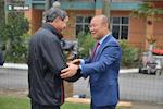 VIDEO: HLV Park voi va toi tham HLV Mai Duc Chung truoc khi tro ve Han Quoc