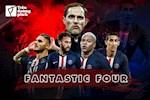 "Paris Saint-Germain: ""Fantastic Four"" se la cong thuc chien thang cua Thomas Tuchel?"