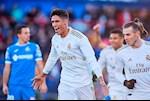 Real Madrid danh bai Getafe: Varane the vai Ramos hoan hao