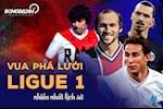 Nhung nguoi gianh ngoi Vua pha luoi Ligue 1 nhieu nhat lich su