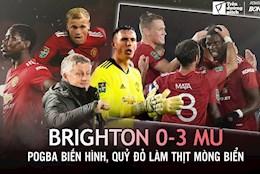 Brighton 0-3 MU: Ro vai tro Van de Beek; xin chao Alex Telles!
