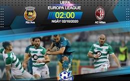Nhan dinh bong da Rio Ave vs AC Milan 2h00 ngay 2/10 (Europa League 2020/21)
