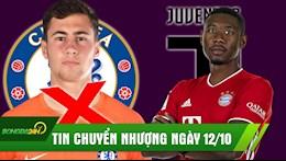 TIN CHUYEN NHUONG 12/10: Juventus san da tang voi gia 0 dong; Chelsea chia tay thu mon