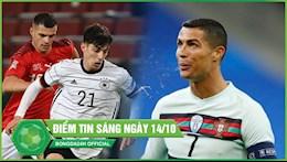 DIEM TIN SANG 14/10: Bo Dao Nha nhan tin du tu Ronaldo; Duc va Tay Ban Nha gay that vong lon