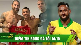 DIEM TIN BONG DA TOI 14/10: Ronaldo yeu cau Juventus ky Sergio Ramos; Neymar chinh thuc vuot mat Ro Beo