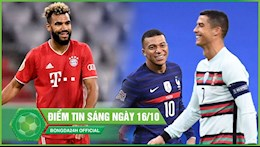 Diem tin sang 16/10: Tan binh toa sang giup Bayern thang de; Juventus muon trao doi Ronaldo Mbappe