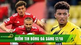 Diem tin bong da 17/10: MU mat Ga He truoc dai chien voi Newcastle; Dortmund chot gia ban Sancho