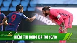 DIEM TIN TOI 18/10: Suarez dat cot moc KHUNG sau Ronaldo; Real nhan tin buon truoc tran Sieu Kinh Dien