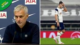 Gareth Bale bo lo co hoi ngon an, Jose Mourinho noi gi?